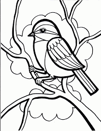 bird coloring pages cute baby birds beautiful nestcoloring