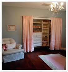 Closet Door Replacement Alternatives To Closet Doors Curtains Closet Door Rolling Closet