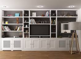 wall unit ideas tv bookcase wall unit plans kwameanane com