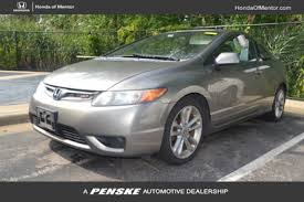 2008 honda civic coupe manual used honda civic coupe for sale in cleveland oh motorcar com