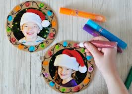 easy diy photo ornaments i crafty things
