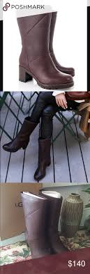 ugg womens karyn boot ugg jessia mid calf leather color stout brown nwt sheepskin