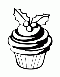 free printable cupcake coloring pages kids