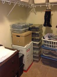 making room for baby turning a walk in closet into a nursery