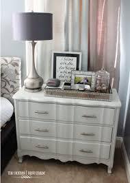 a modern makeover for a classic piece a little grey dresser