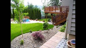 Backyard Landscape Ideas For Small Yards Landscaping Ideas For Small Backyards Youtube