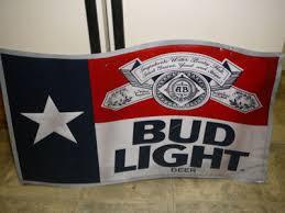 bud light tin signs vintage budweiser tin sign bud light texas flag misprint vintage