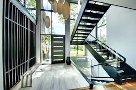 Wooden Front Stairs Design Ideas Front Staircase Design Ideas Stairs Entry Contemporary With