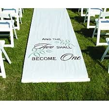 White Aisle Runner Happily Ever After White Aisle Runner Free Shipping On Orders