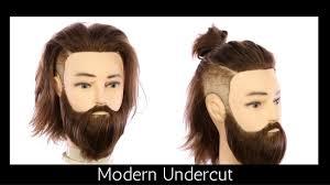 mens tidal wave hair cut modern undercut haircut tutorial thesalonguy youtube
