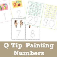 all 123s free number printables