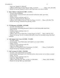 Cvs Pharmacy Resume Clinical Pharmacist Cover Letter Pharmacist Cover Letter Examples