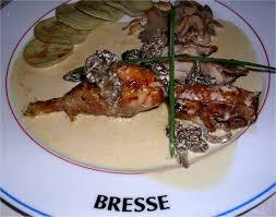 cuisiner un poulet de bresse poulet de bresse aux morilles
