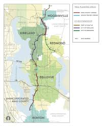 Redmond Washington Map by Cascade Bicycle Club