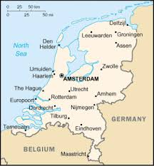 netherlands map images map of netherlands terrain area and outline maps of netherlands