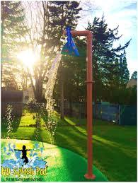 backyards wonderful diy splash pad 12 backyard cost charming