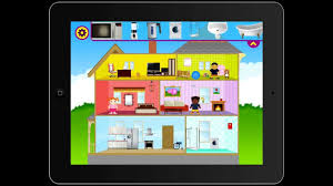 little house decorator decorate a doll houses on your ipad