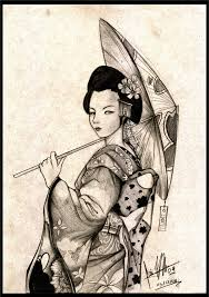 japanese geisha designs ideas picture own