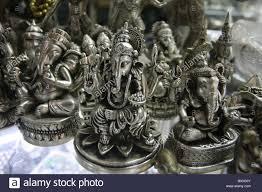 brass ornaments for sale at russian market phnom penh cambodia