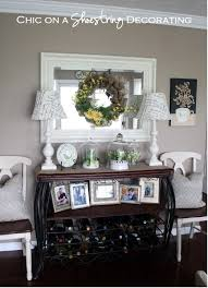 chic on a shoestring decorating no sew burlap table runner