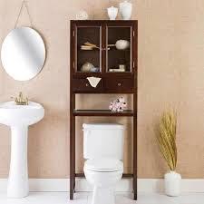 Decorative Bathroom Storage Cabinets Saving Space With Toilet Cabinets Toilet Bathroom Bidet