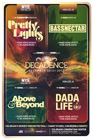 pretty lights nye tickets decadence nye brings pretty lights bassnectar to denver