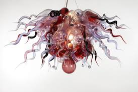 Chinese Chandeliers Glass Chandeliers Pendants And Sconces By Ed Pennebaker Red