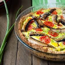 cuisiner filet de maquereau recette quiche aux filets de maquereau et tomates maison