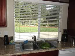 kitchen remarkable kitchen window treatment ideas with teak wood kitchen remarkable kitchen window treatment ideas with teak wood kitchen cabinet and white marble countertop