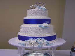 wedding cake royal blue royal blue and white wedding cake wedding cakes by sherry