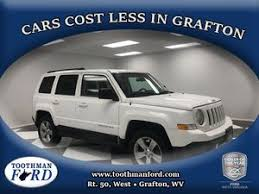 jeep patriot for sale used jeep patriot for sale grafton wv