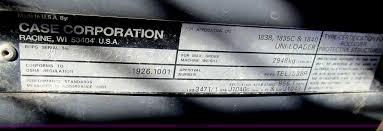 2000 case 1840 skid steer item c3588 sold friday decemb