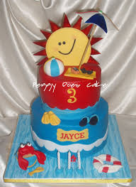 peggy does cake cake update pool party cake for jayce click