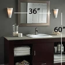 Sconce Bathroom Lighting Lighting Design Ideas Bathroom Light Sconces In Brushed