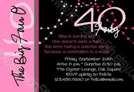 colors 40th birthday invites funny as well as 40th birthday