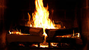 benefits of sitting by a warm crackling fire merry christmas