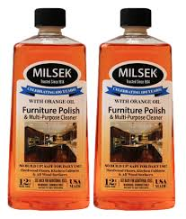 amazon com milsek furniture polish and cleaner with real orange
