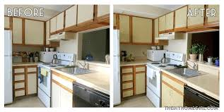 diy paint kitchen cabinets paint melamine cabinets before and after nrtradiant com