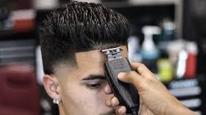 Temp Fade Haircut With Curls Haircut Tutorial High Taper Fade Youtube