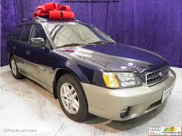 subaru purple 2003 mystic blue pearl subaru outback wagon 42134030 photo 6