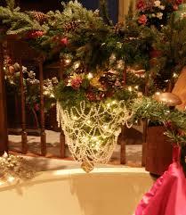 christmas tree hung upside down christmas lights decoration