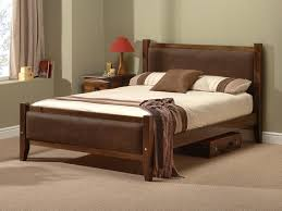 Brown Wood Bed Frame Awesome Best 25 Wood Bed Frame Ideas On Pinterest Brown