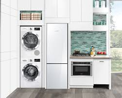 Laundry Room In Kitchen Ideas Designed Specifically For Compact Living Bosch U0027s New Line Of 24