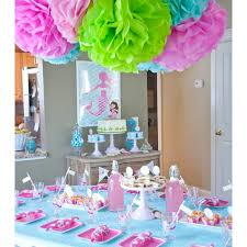 Under The Sea Decoration Ideas Under The Sea Birthday Party Printable Collection Pink And Aqua
