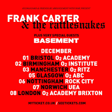 frank carter u0026 the rattlesnakes at rock city nottingham on 6 dec