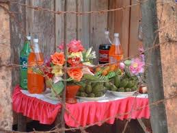 New Year Fruit Decorations by Journeying Khmer New Year Celebrations