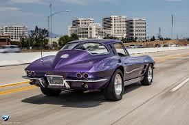 c2 corvette purple corvette c2 on the i405 south as i was heading sout flickr