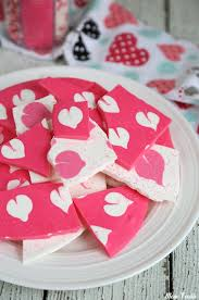 valentines hearts candy s chocolate bark swirled heart pattern chocolate