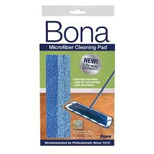 Eco Mop For Laminate Floors Bona Microfiber Cleaning Pad Ax0003053 The Home Depot