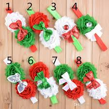 christmas hair accessories christmas children hair accessories kids flower hair bands sequin